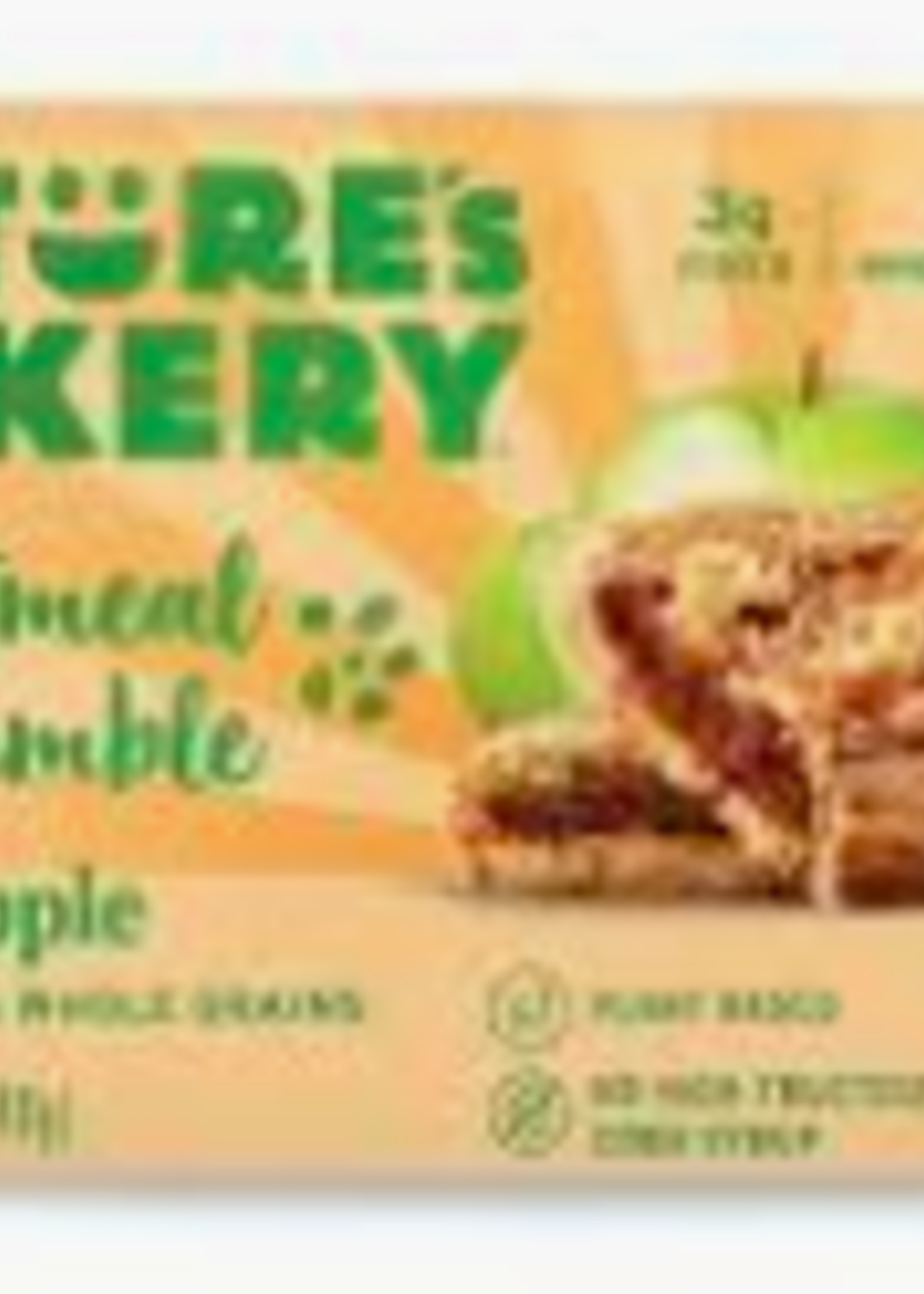 Nature's Bakery Nature's Bakery Oatmeal Crumble Bar