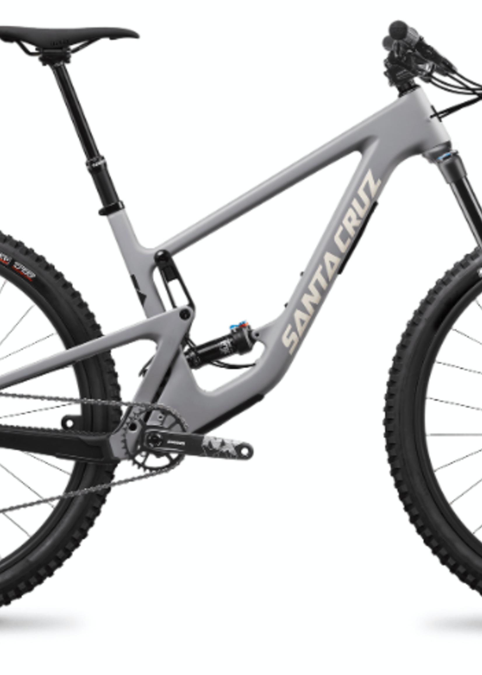 "Santa Cruz Santa Cruz Hightower 2 2021 | S Kit | Carbon C | 29"" Mountain Bike - Grey - Small"