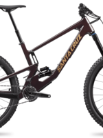 "Santa Cruz Santa Cruz '21  Nomad 5 |  R Kit | 27.5 "" Mountain Bike - Oxblood and Tan - Small"