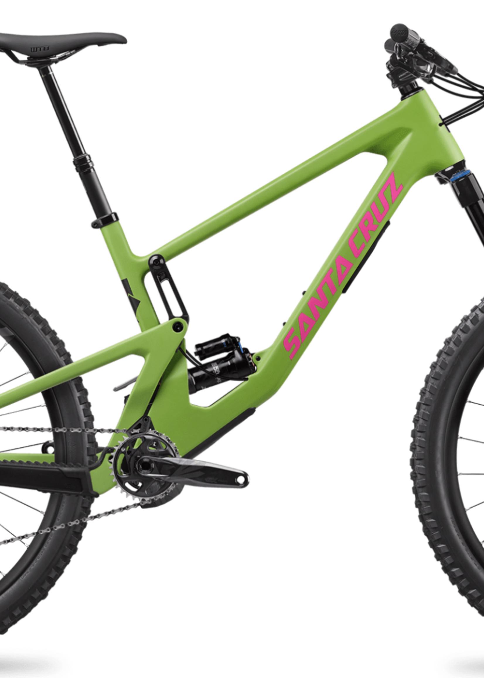 Santa Cruz Santa Cruz '21  Nomad 5    R Kit   27.5  Mountain Bike - Green - XL