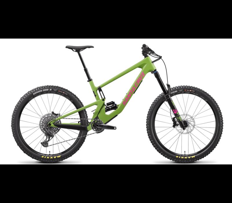 Santa Cruz '21  Nomad 5 |  S Kit | 27.5  Mountain Bike - Green - Small