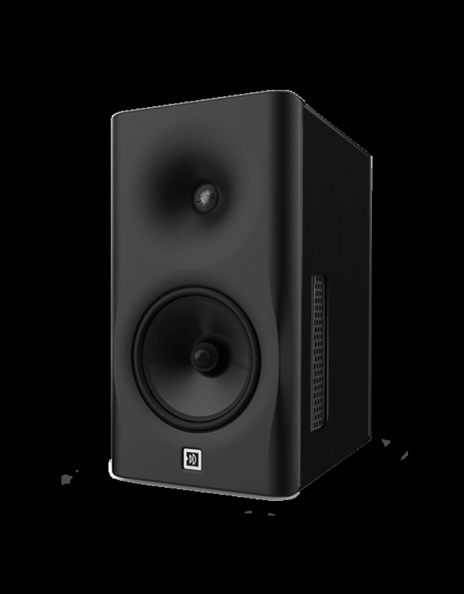 Dutch & Dutch 8C studio speaker, black baffle, black cabinet