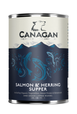Canagan Lata Perros Salmon & Herring 400g