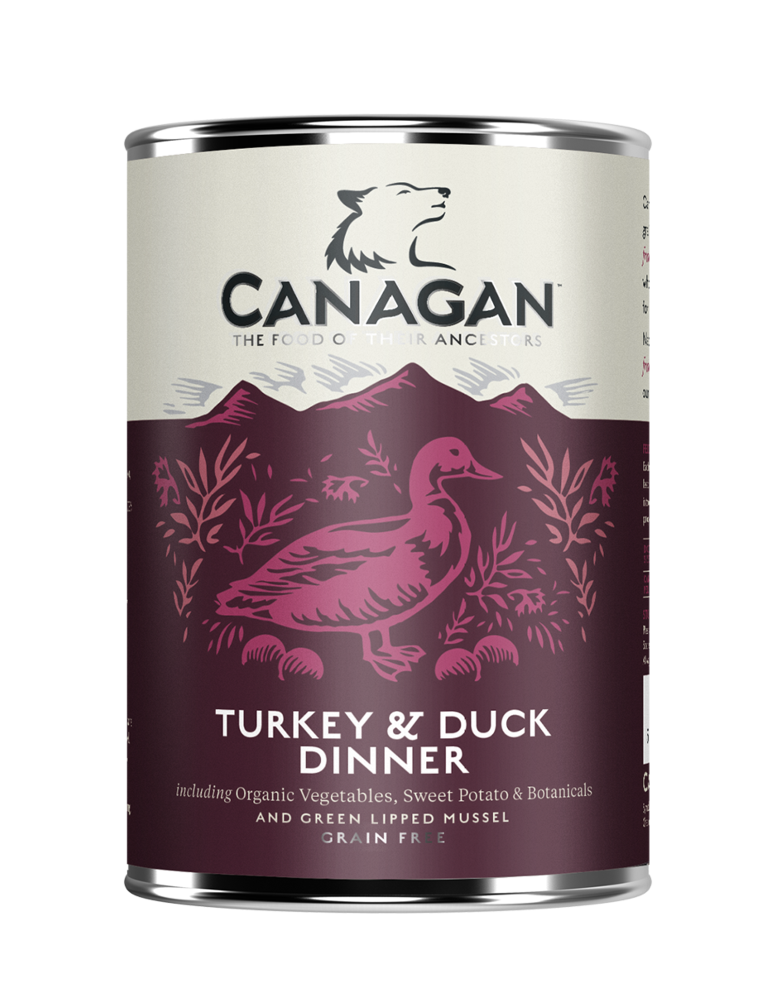 Canagan Lata Perros Turkey & Duck 400g