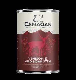 Canagan Lata Perros Venison & Wild Boar 400g