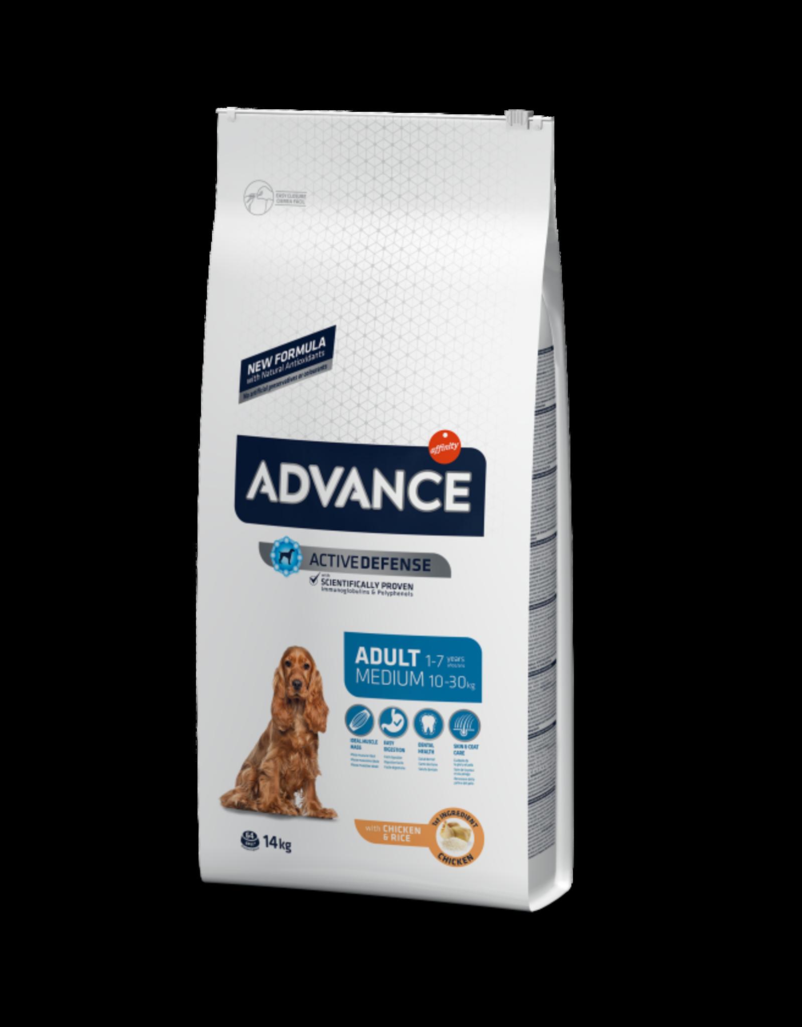 Affinity Affinity Advance Perro Medium chicken rice 14 Kg