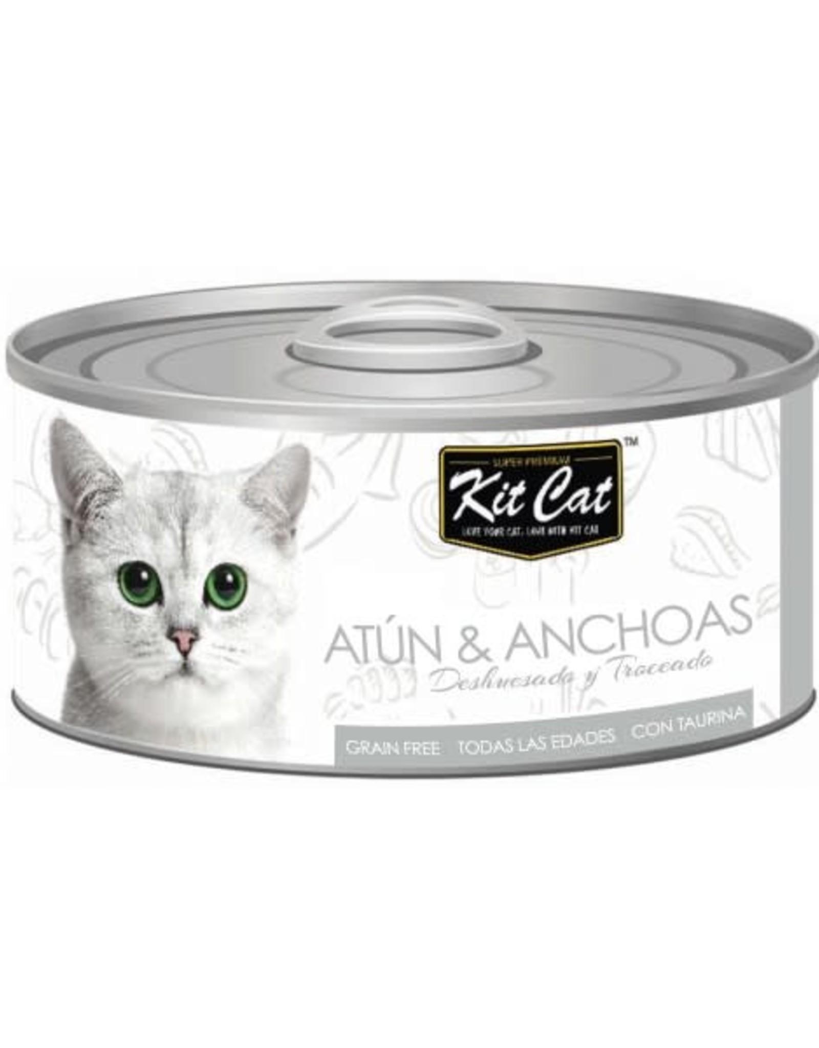 Kit Cat Kit Cat Lata Atun y Anchoas 80 g