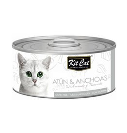Kit Cat Kit Cat Lata Atun y Anchoas 80 g