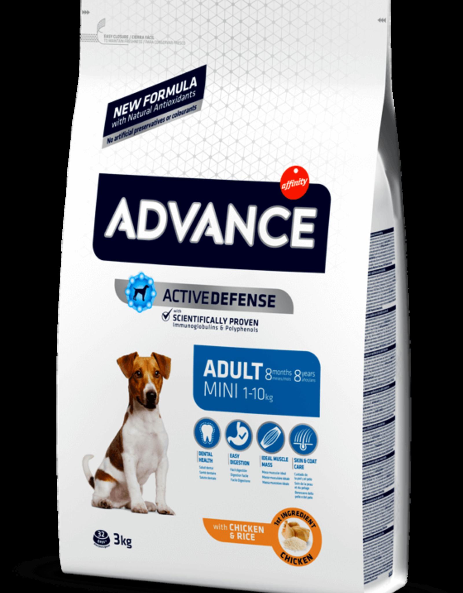 Affinity Affinity Advance Perro Adulto Mini Pollo Y Arroz 3 Kg