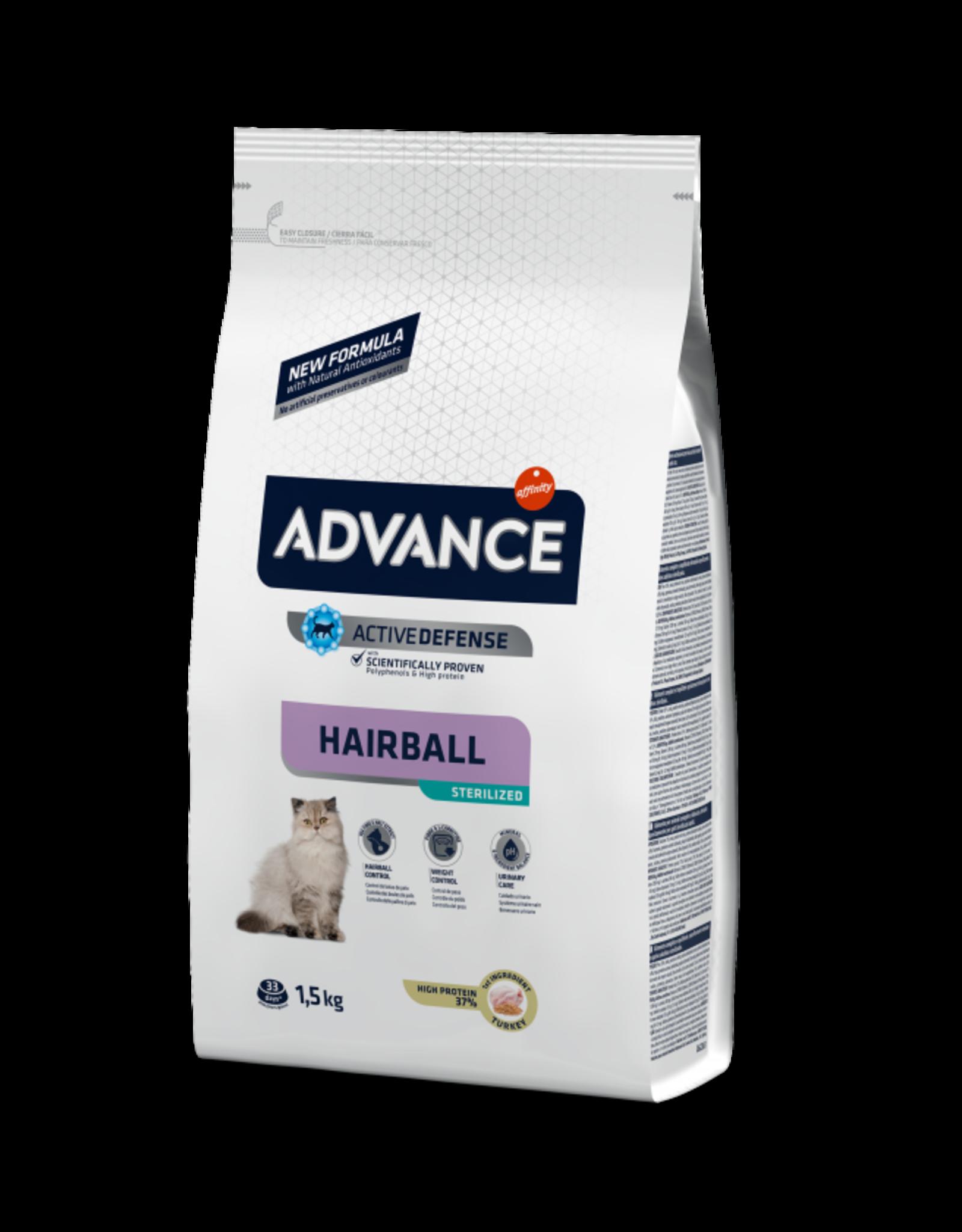 Affinity Affinity Advance Pavo Hairball Sterilised 10 kg
