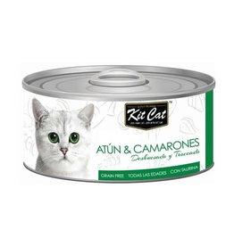 Kit Cat Kit Cat Lata Atun y Camarones 80 g