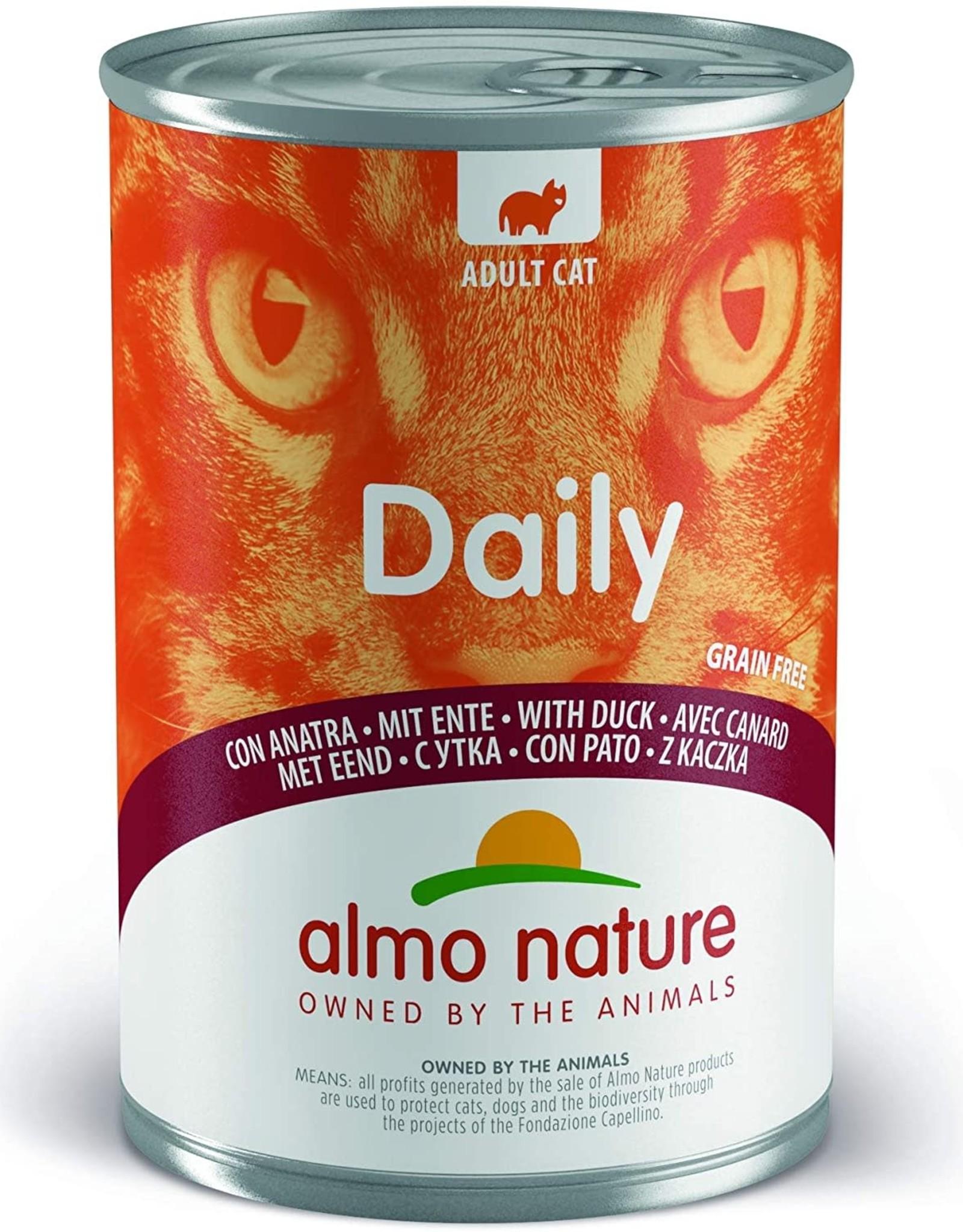 Almo Nature Almo Nature Daily Menu Gato Pato 400 G