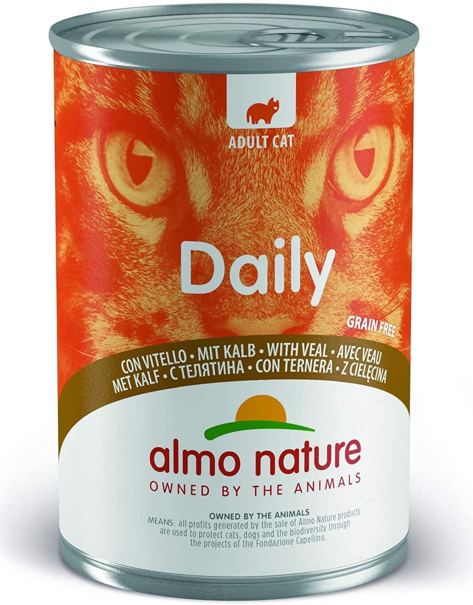 Almo Nature Almo Nature Daily Menu Gato Ternera 400 G