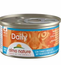 Almo Nature Almo Nature Cat Daily Mousse Atún y bacalao 85 g