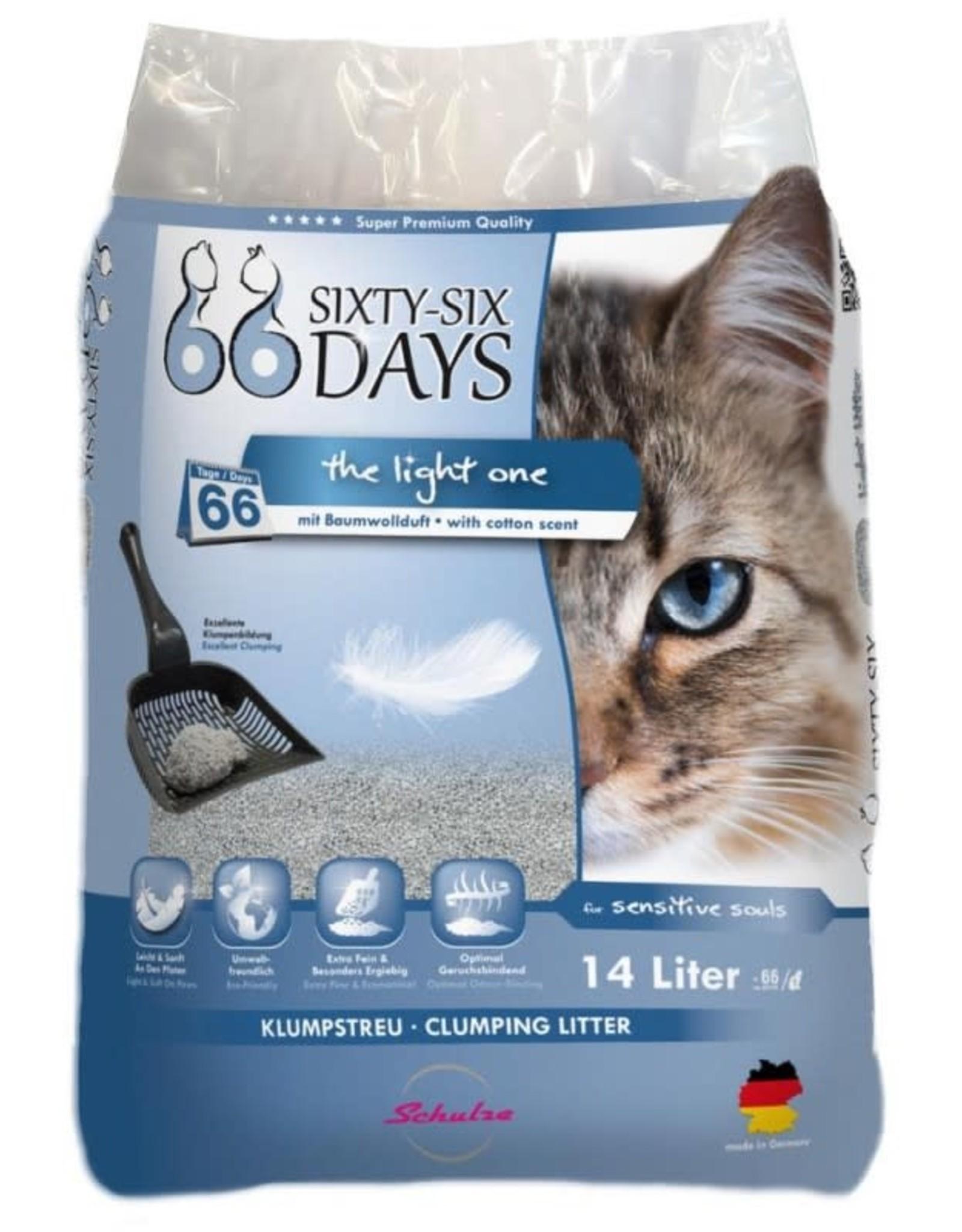 66-Sixty-Six Days - arena aglomerante ligera 14 ltr (8kg)