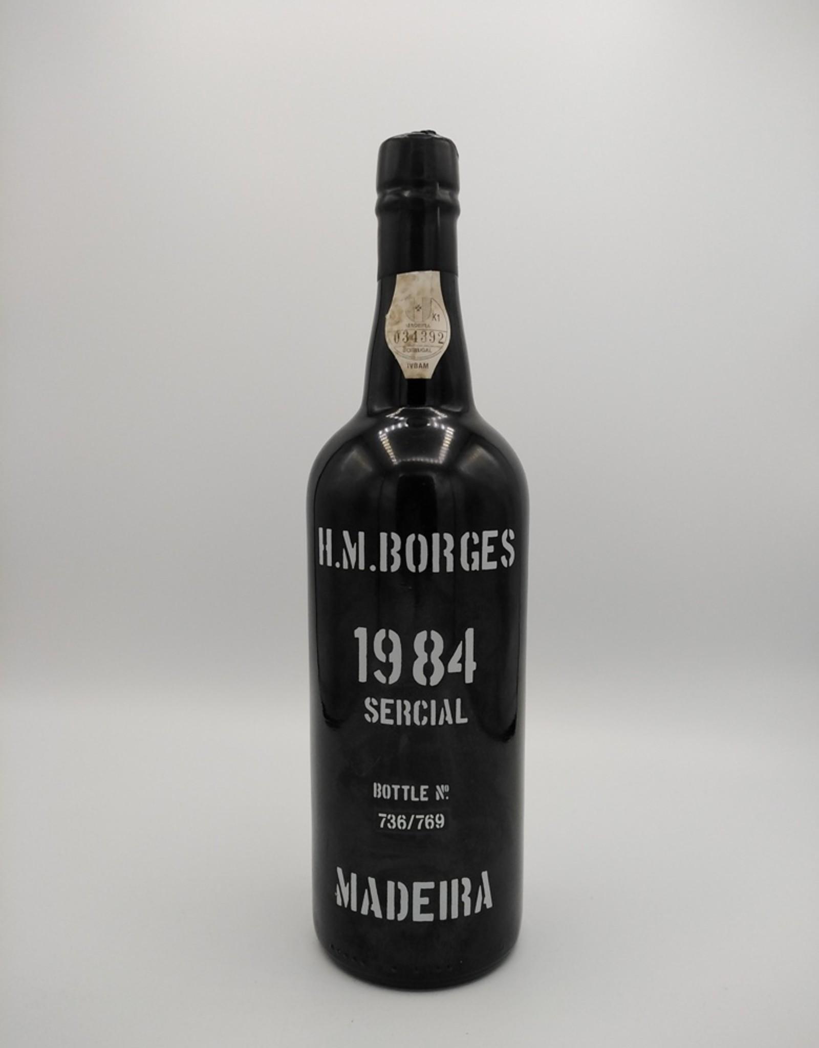 H.M. Borges H.M. Borges - Madeira Frasqueira Sercial 1984