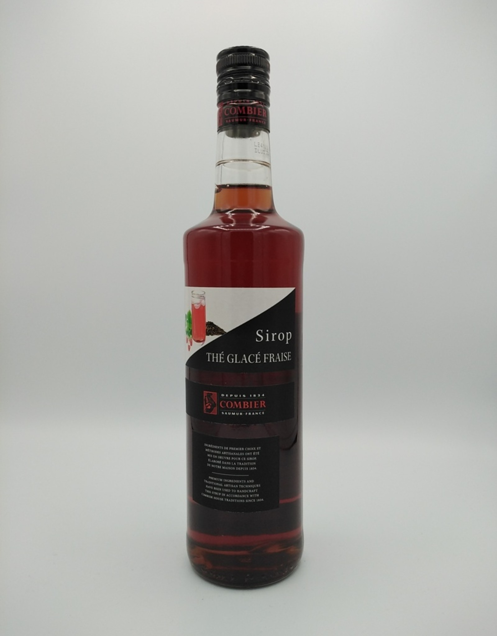 Distillerie Combier Distillerie Combier - Sirop Thé Glacé Fraise