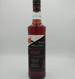 Distillerie Combier Sirop Thé Glacé Fraise - Fraise