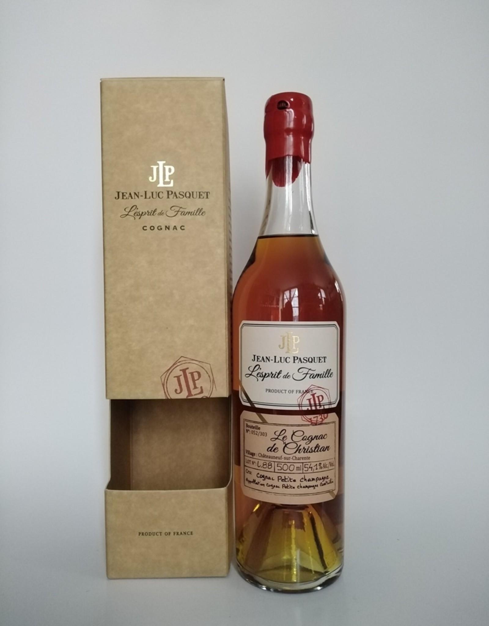 Jean-Luc Pasquet Jean-Luc Pasquet - L'esprit de Famille - Le Cognac de Christian - 50 cl