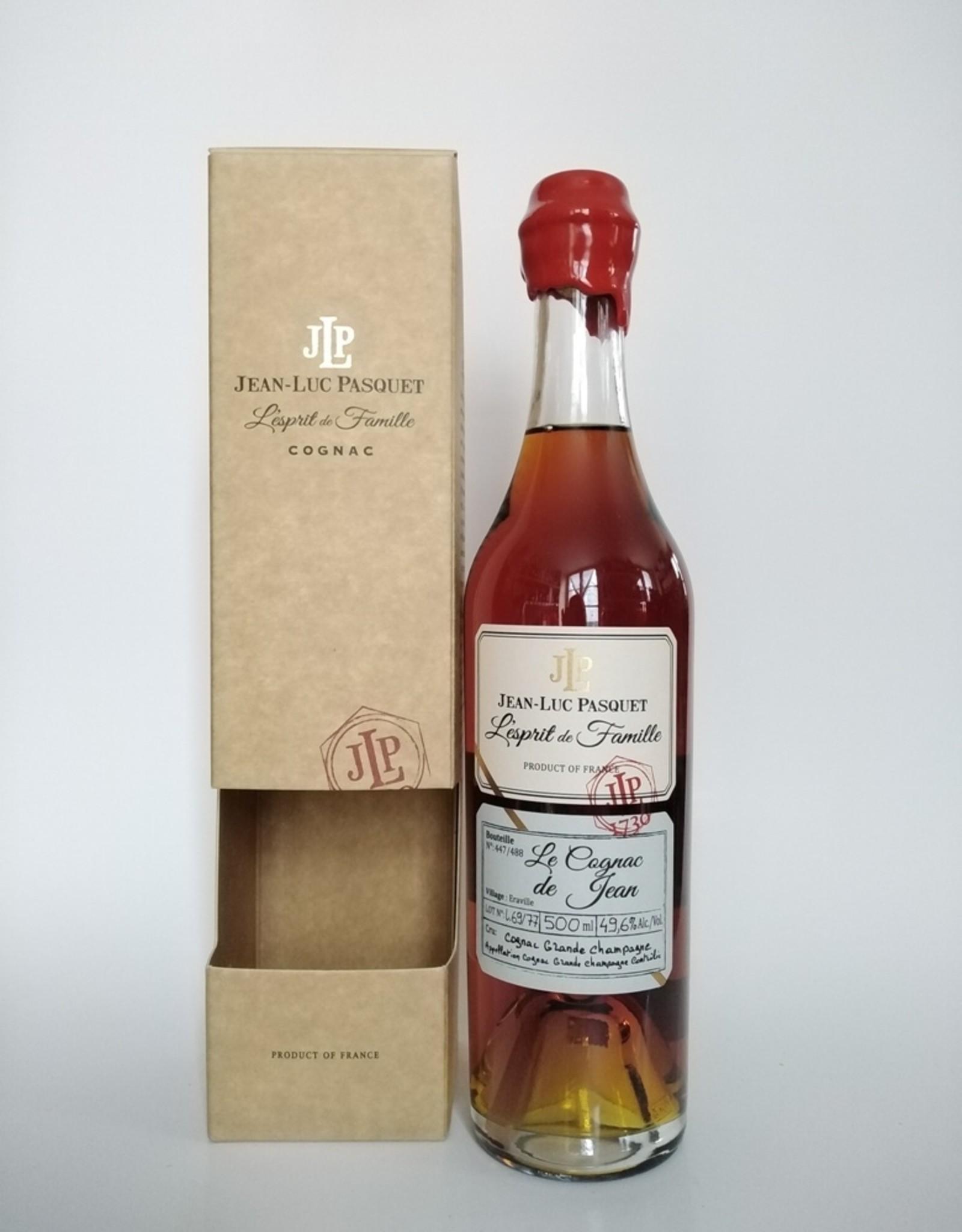 Jean-Luc Pasquet Jean-Luc Pasquet - L'esprit de Famille - 50 cl - Le Cognac de Jean