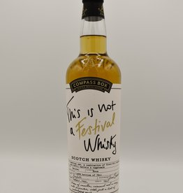 Compass Box This is not a Festival Whisky - Compass Box