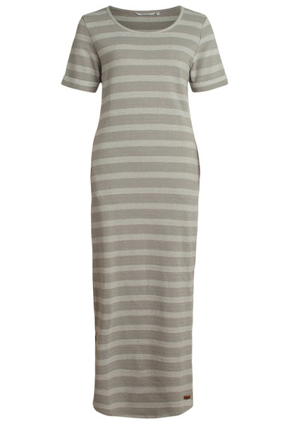 moscow Long Dress SP20-14.04 Chalk grey