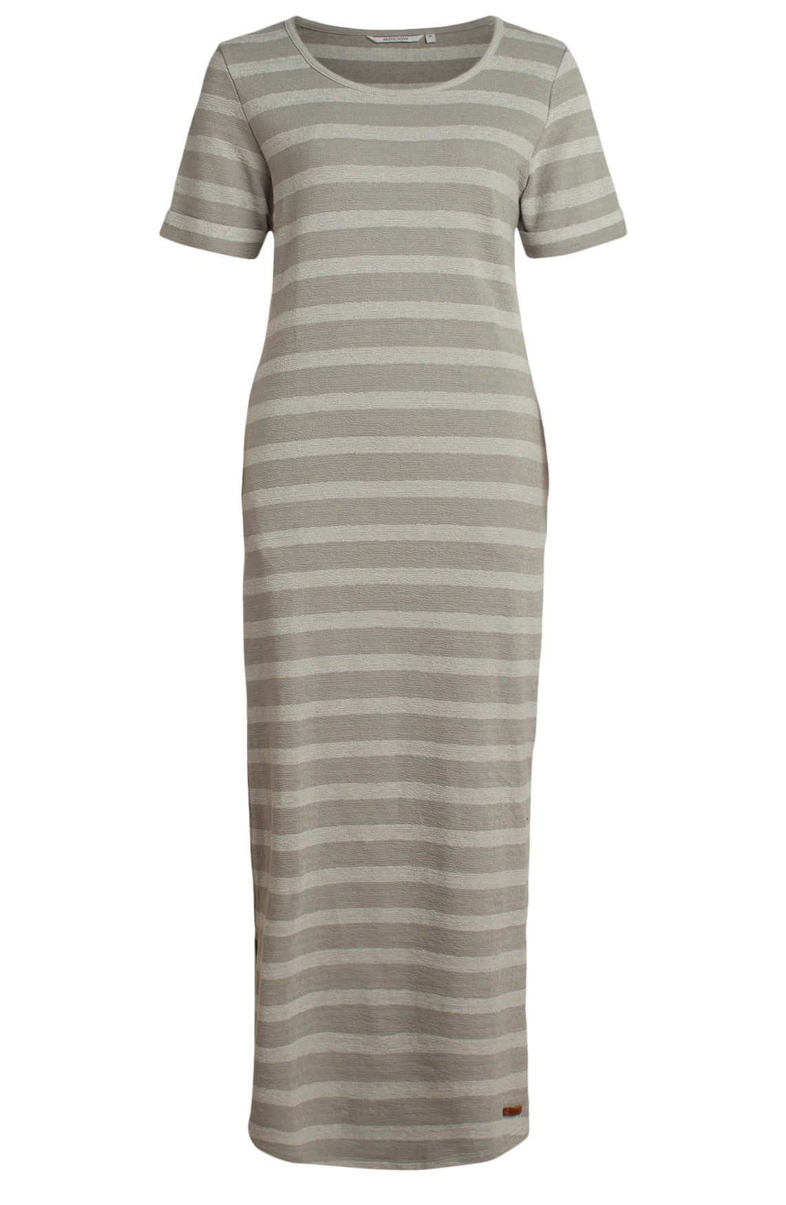 moscow Long Dress SP20-14.04  Chalk grey-1