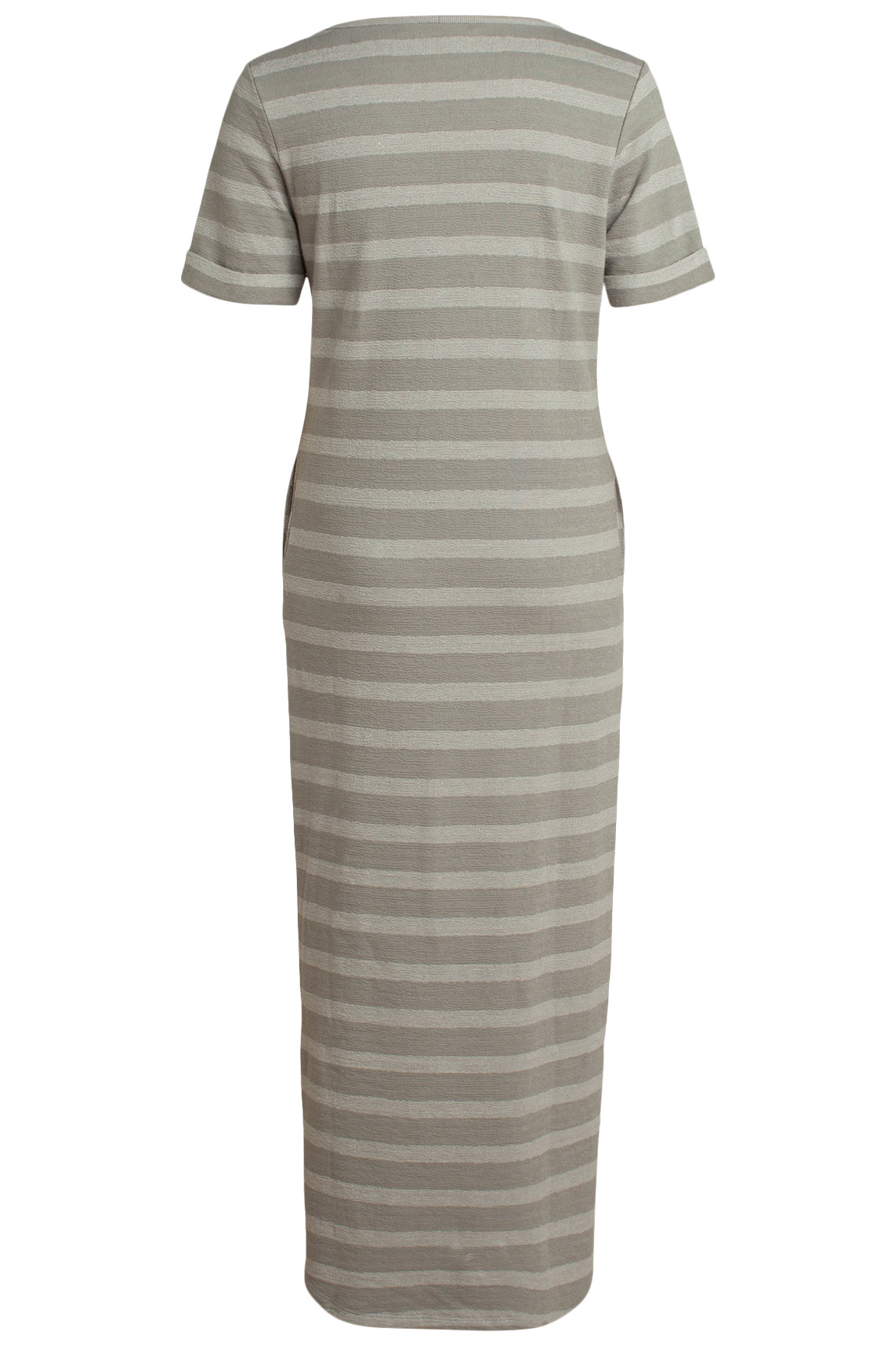 moscow Long Dress SP20-14.04  Chalk grey-2
