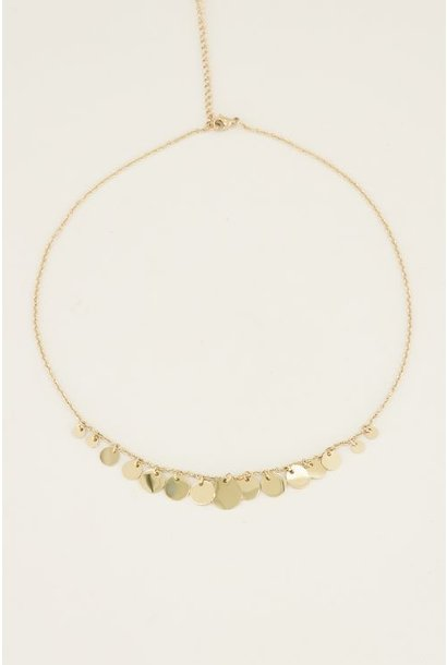 My Jewellery Ketting muntjes MJ029341200