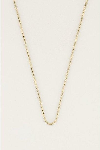 My Jewellery Ketting gevlochten MJ023921200