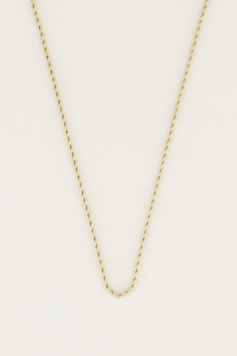 My Jewellery Ketting gevlochten MJ023921200-1