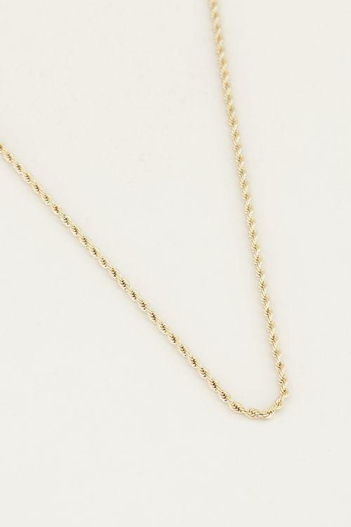 My Jewellery Ketting gevlochten MJ023921200-2