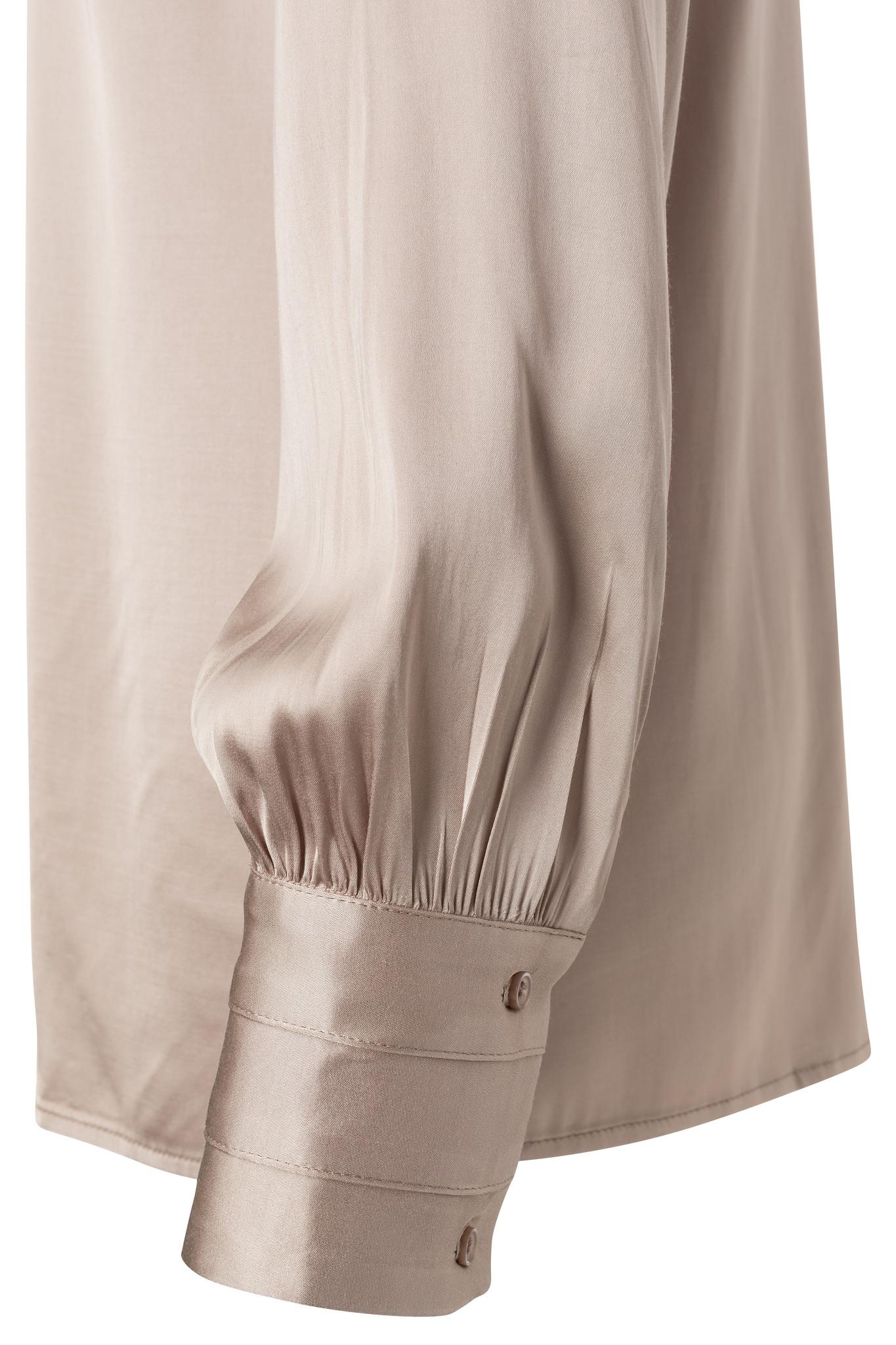 yaya Satin shirt detailed 1101195-111-2