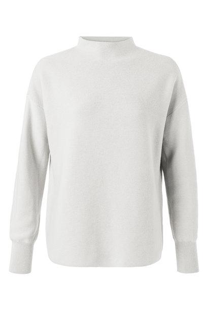 yaya Stand up collar sweater