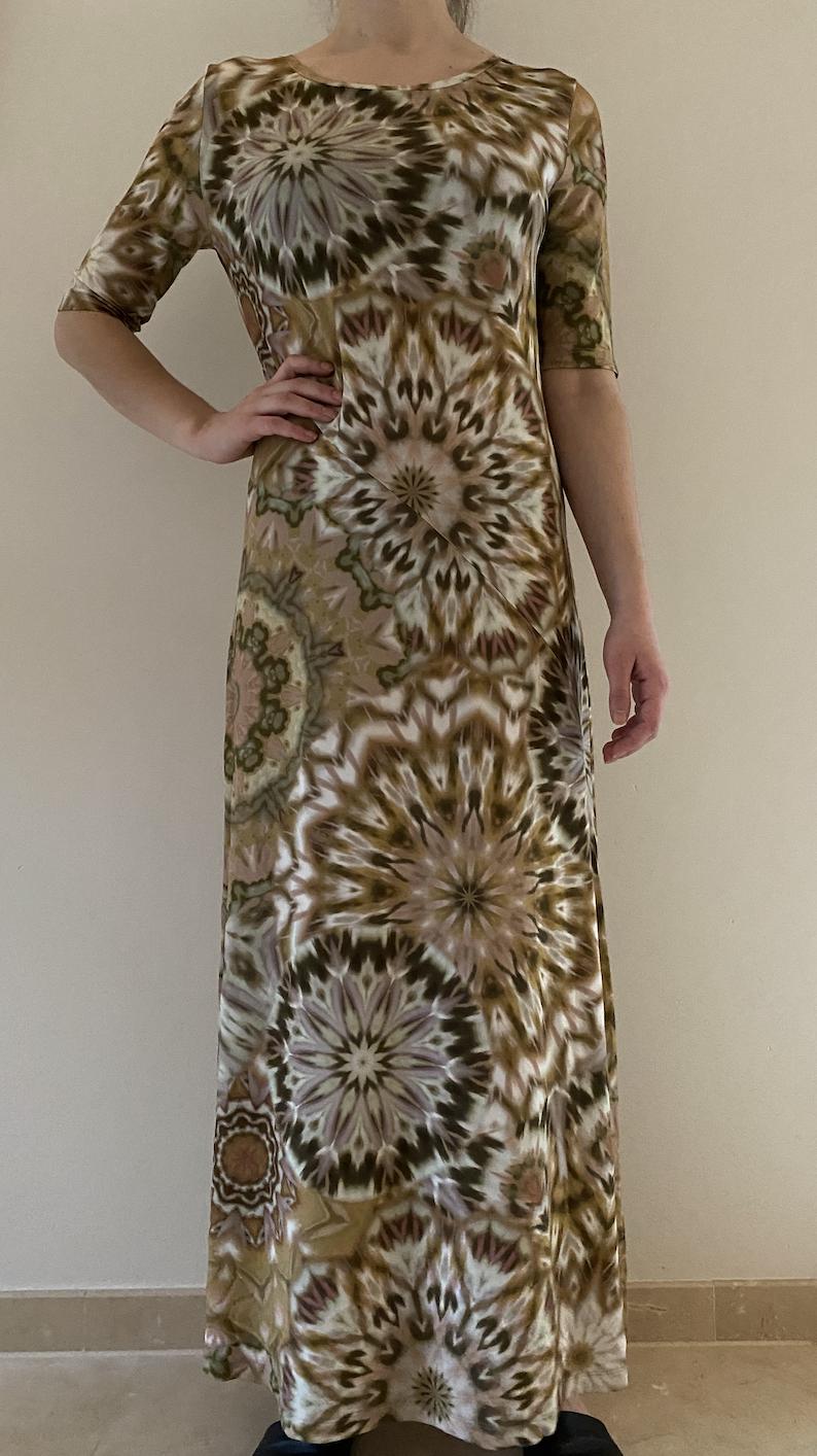 nomansland Dress 53.455  Safari green-1