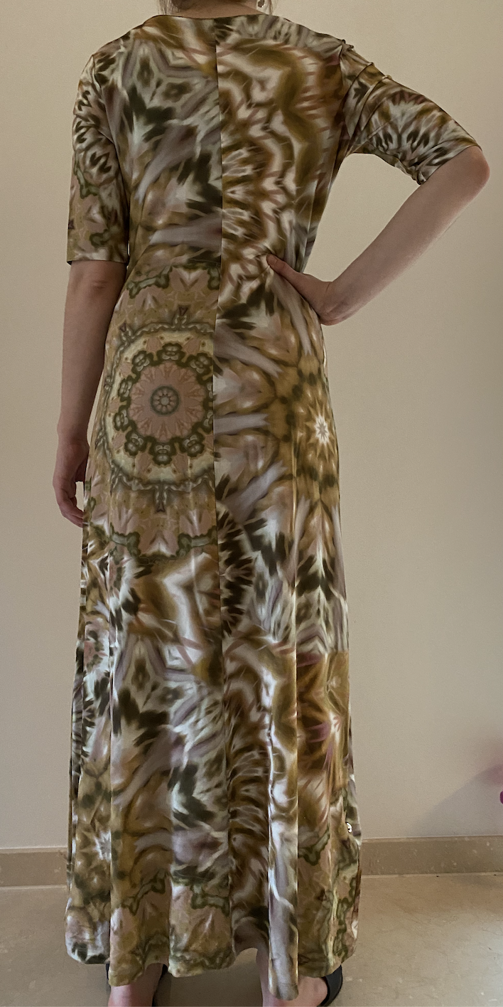 nomansland Dress 53.455  Safari green-2