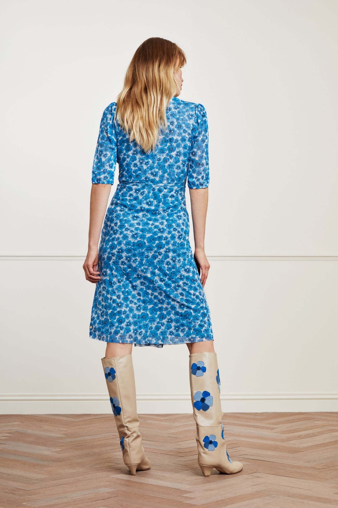 Fabienne Chapot Dress MELISSA CLT-77-3