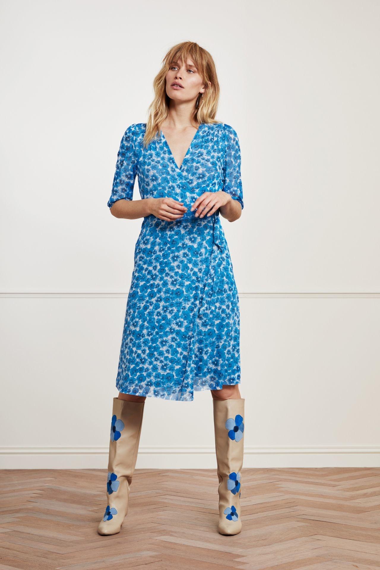 Fabienne Chapot Dress MELISSA CLT-77-2