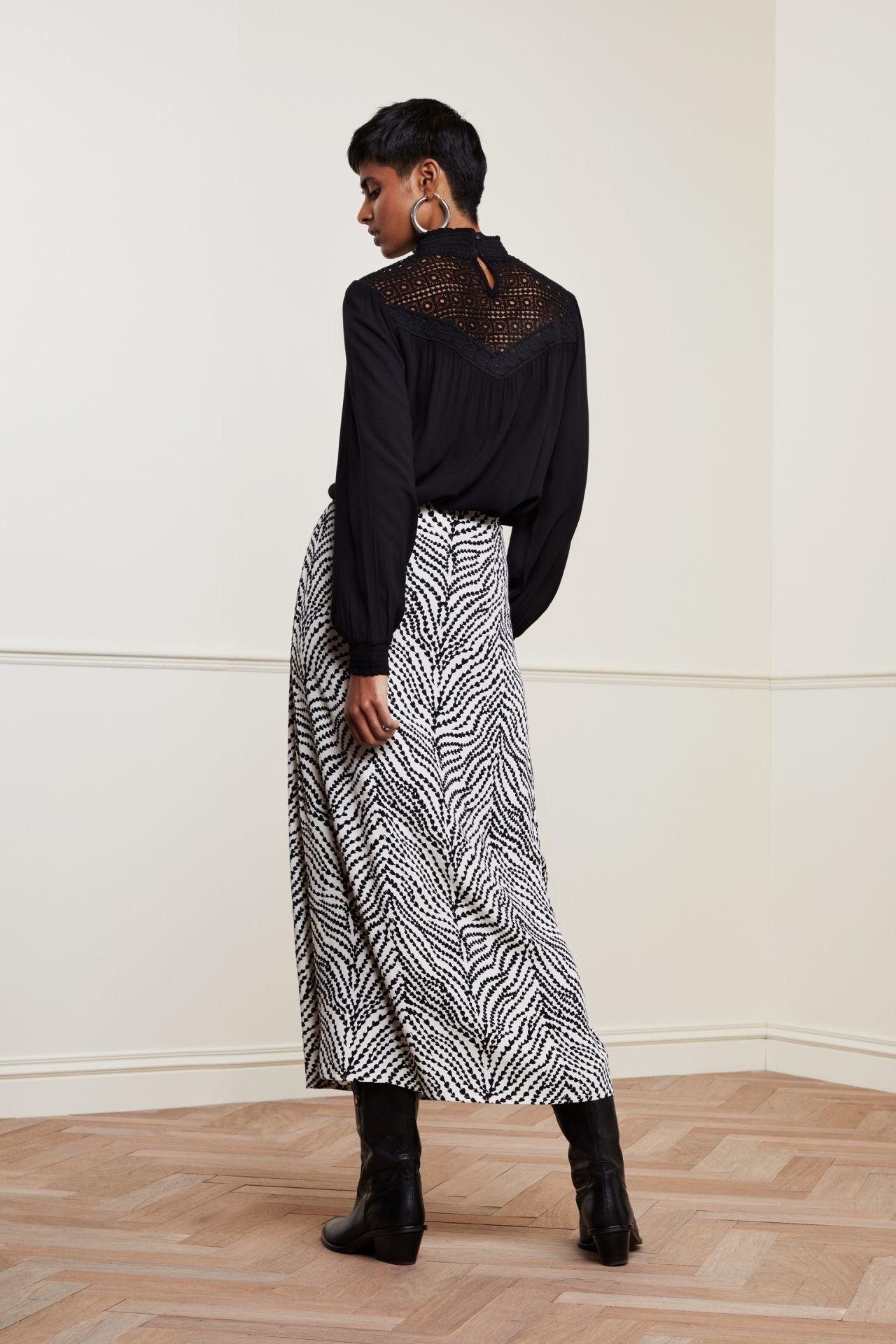 Fabienne Chapot Skirt LAURIE CLT-135-3