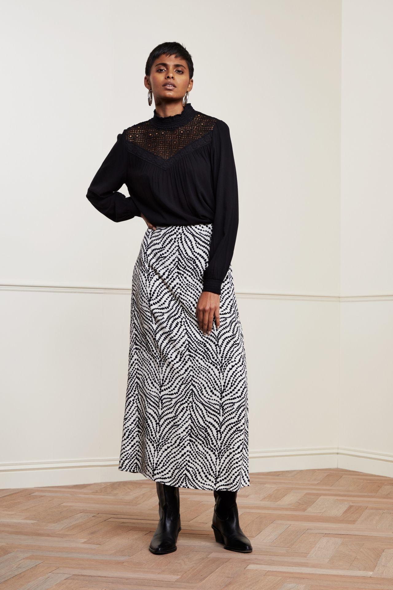 Fabienne Chapot Skirt LAURIE CLT-135-2