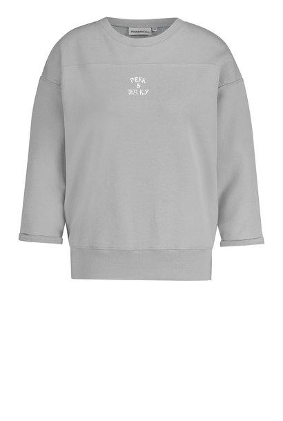 Penn & Ink sweater S21T563 Pigeonwhite