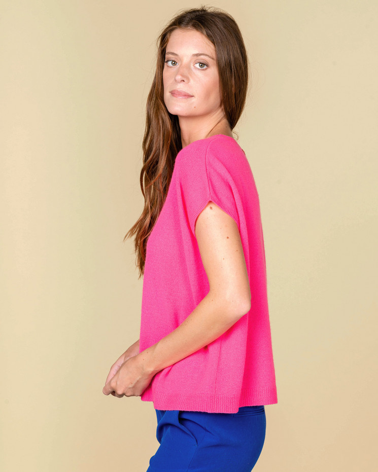 Absolut Cashmere Top LOUISE 112016C-2