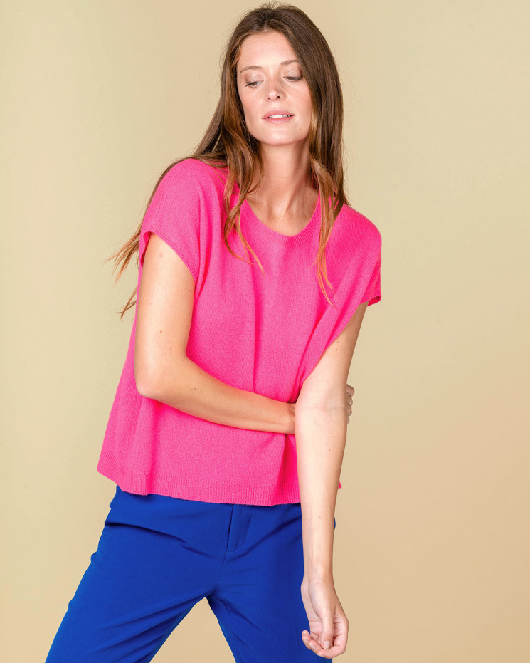 Absolut Cashmere Top LOUISE 112016C-1