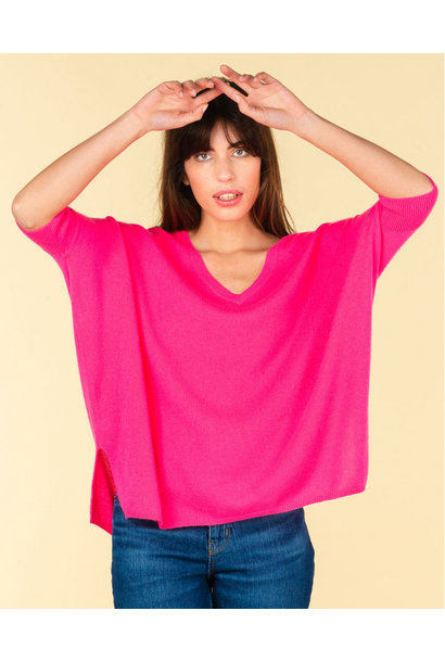 Absolut Cashmere shirt KATE 112010 Rose Fluo