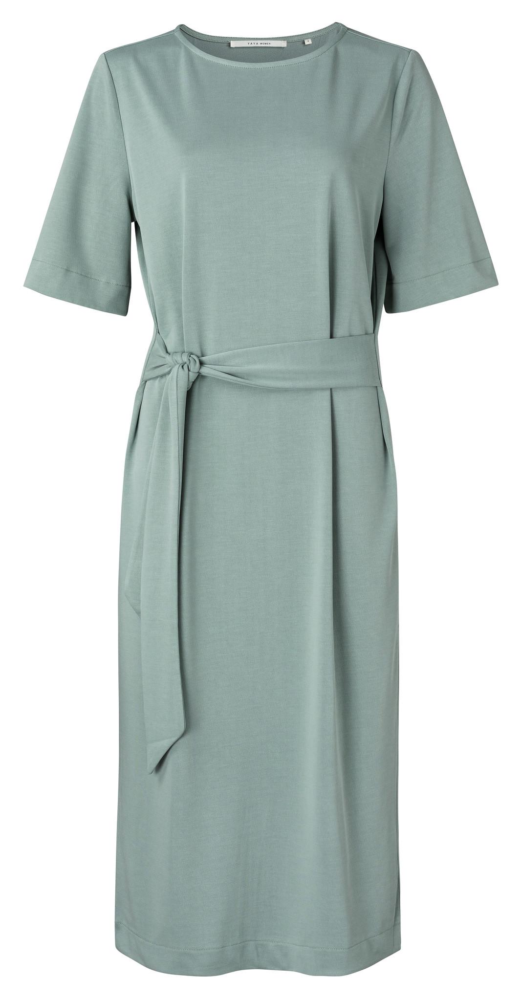 yaya Jersey dress with be 1809322-113-1