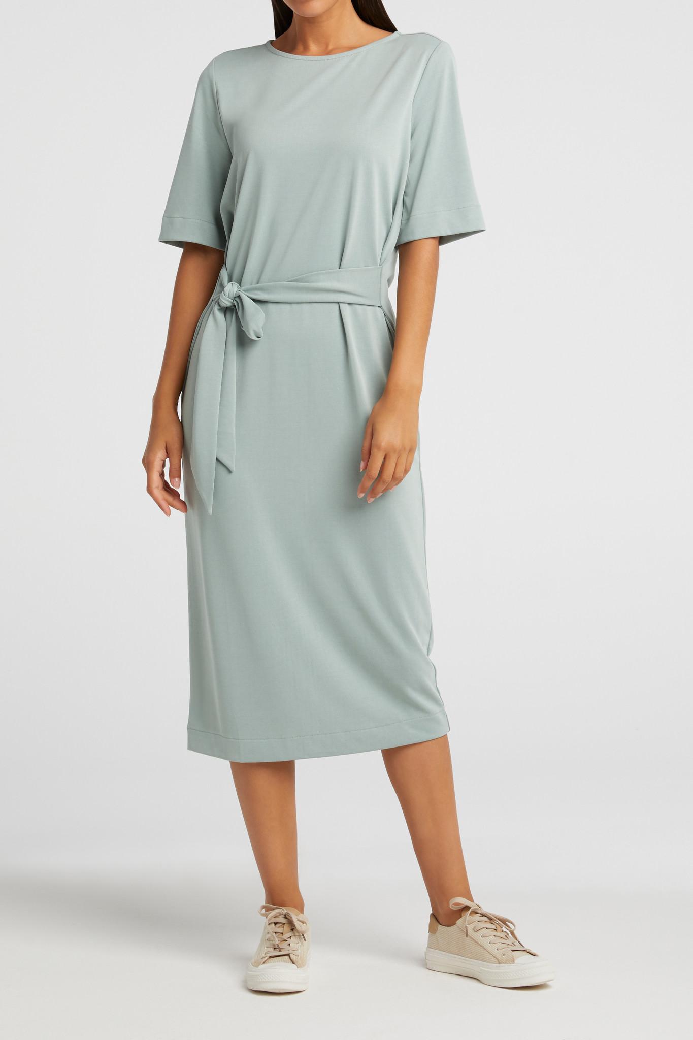 yaya Jersey dress with be 1809322-113-2