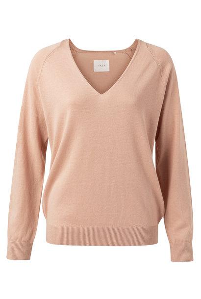 yaya Basic vneck sweater 1000273-113 51316