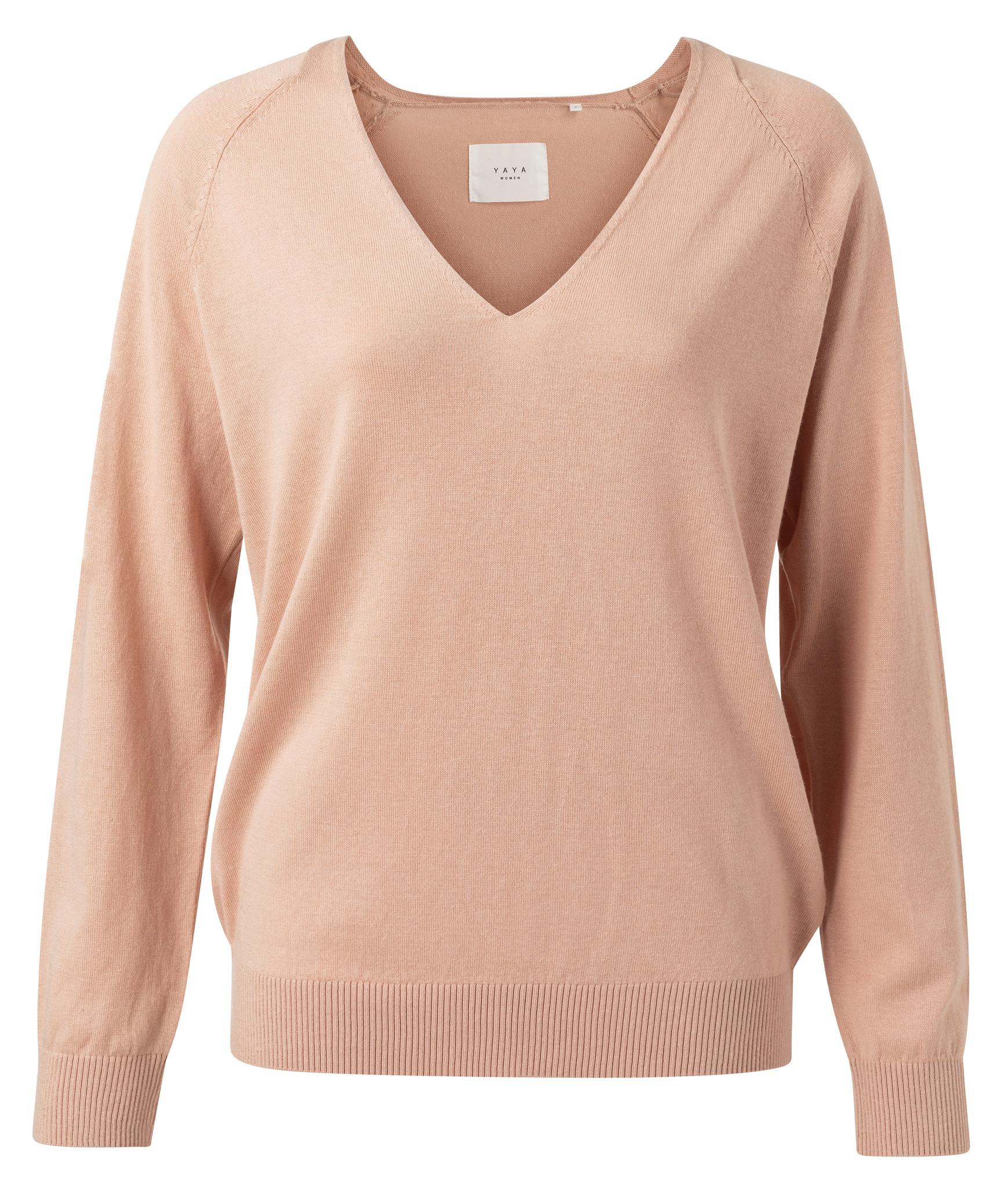 yaya Basic vneck sweater 1000273-113-1