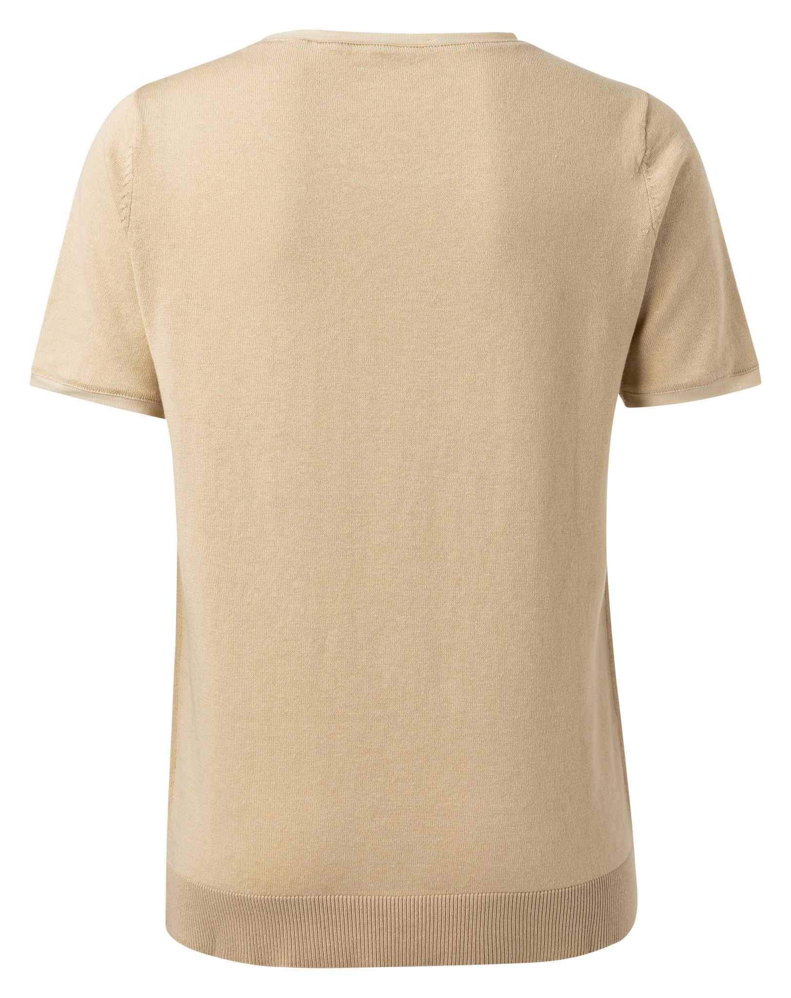 yaya Mesh binding sweater 1000412-112-3