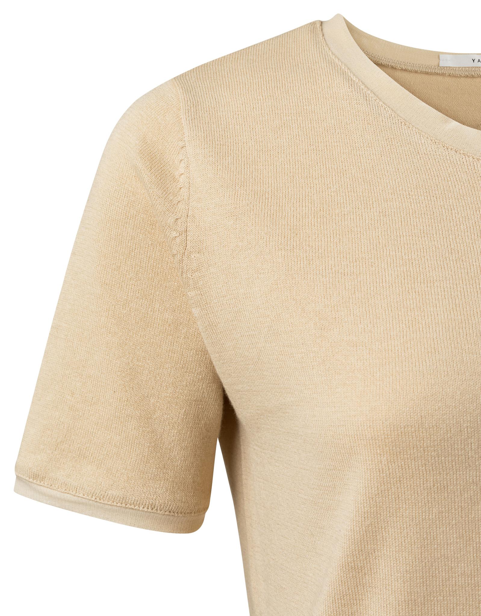 yaya Mesh binding sweater 1000412-112-2